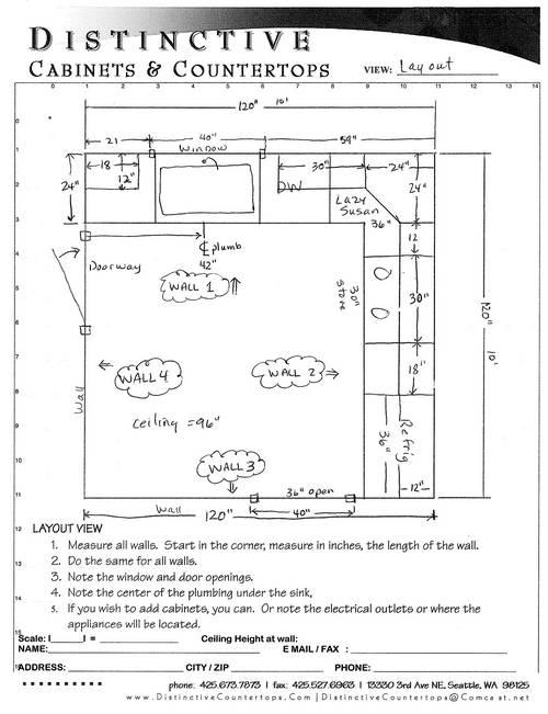 Kitchen Cabinet Planning Grid - Sarkem.net